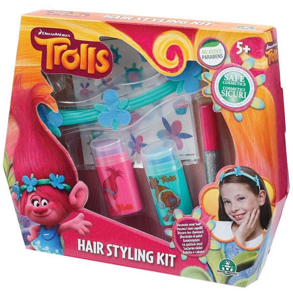 Set za ulepšavanje kose Trolls GPTRL00 - ODDO igračke