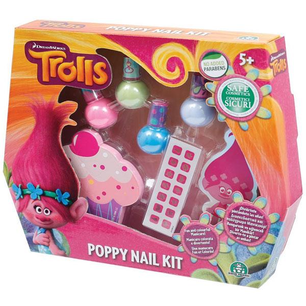 Set za ulepšavanje noktiju Trolls Poppy GPTRL01 - ODDO igračke