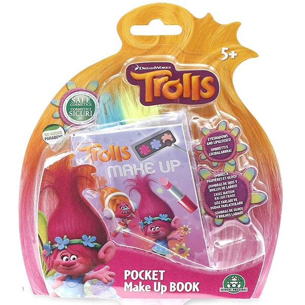 Set za ulepšavanje Trolls Mala knjiga sa šminkom GPTRL04 - ODDO igračke