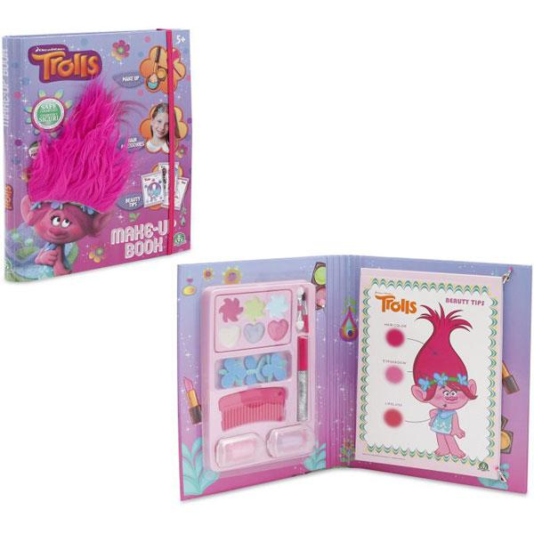 Set za ulepšavanje Trolls Knjiga sa šminkom GPTRL05 - ODDO igračke