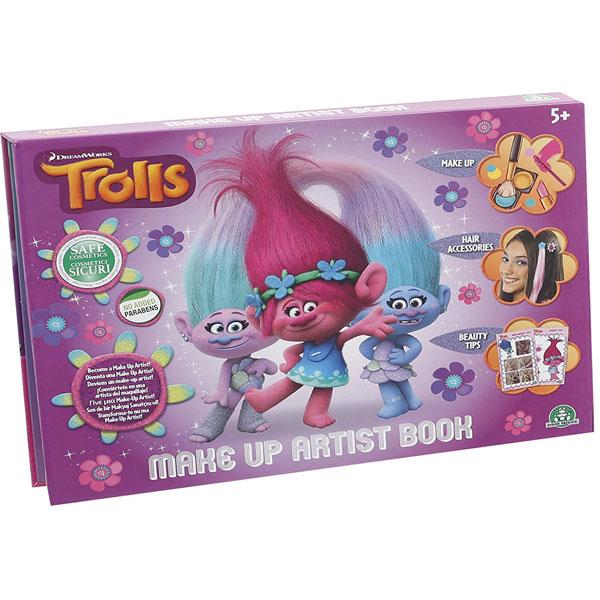 Set za ulepšavanje Trolls Knjiga za ulepšavanje GPTRL07 - ODDO igračke