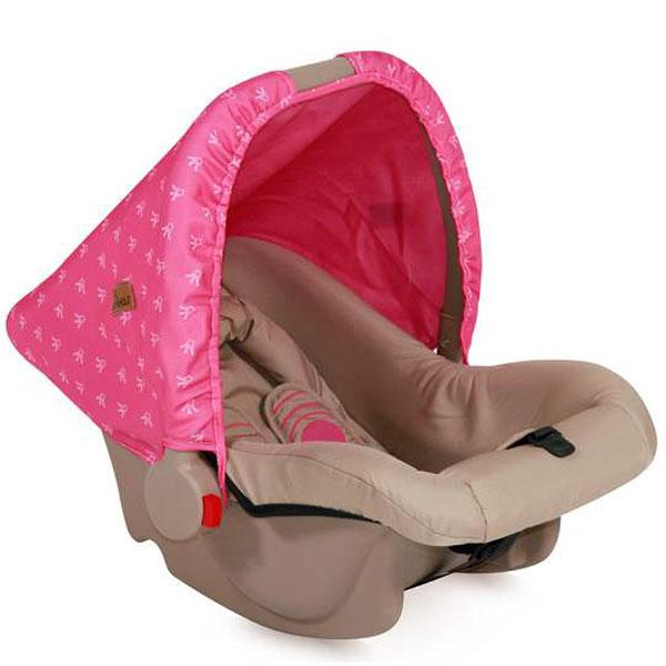 Auto sedište za decu od 0-10kg Bodyguard Beige Rose Princess 10070131703 - ODDO igračke