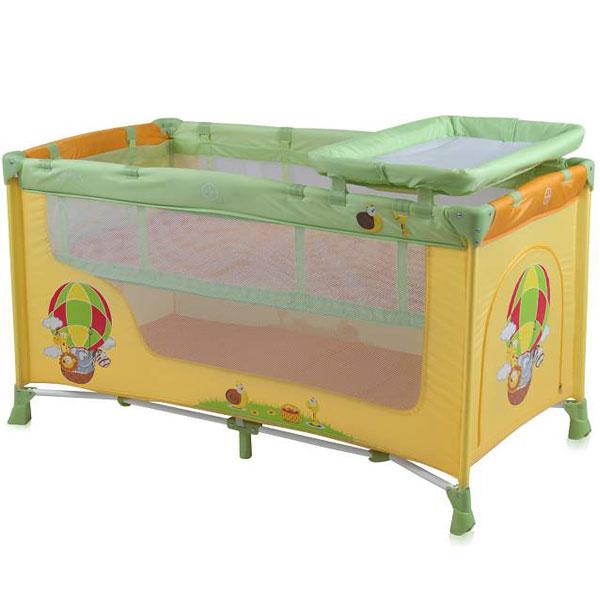 Prenosivi Krevetac Baby Nanny 2 Nivoa Multicolor Balloon 10080191701 - ODDO igračke