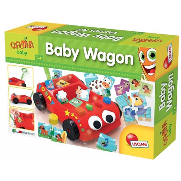 Lisciani eduaktivno vozilo Baby Wagon 57733  - ODDO igračke
