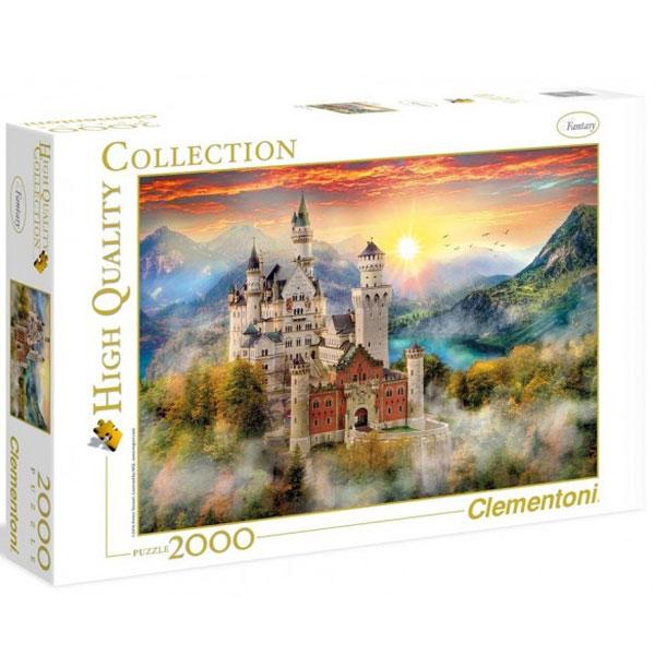 Clementoni Puzzla Neuschwanstein Castle 2000pcs 32559 - ODDO igračke
