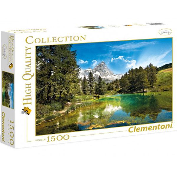 Clementoni Puzzla The blue lake 1500pcs 31680 - ODDO igračke
