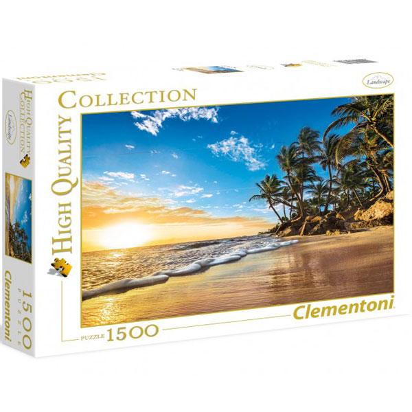 Clementoni puzzla Tropical sun rise 1500pcs 31681 - ODDO igračke