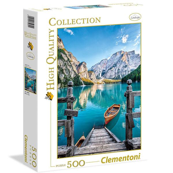 Clementoni puzzla Braies Lake 500pcs 35039 - ODDO igračke
