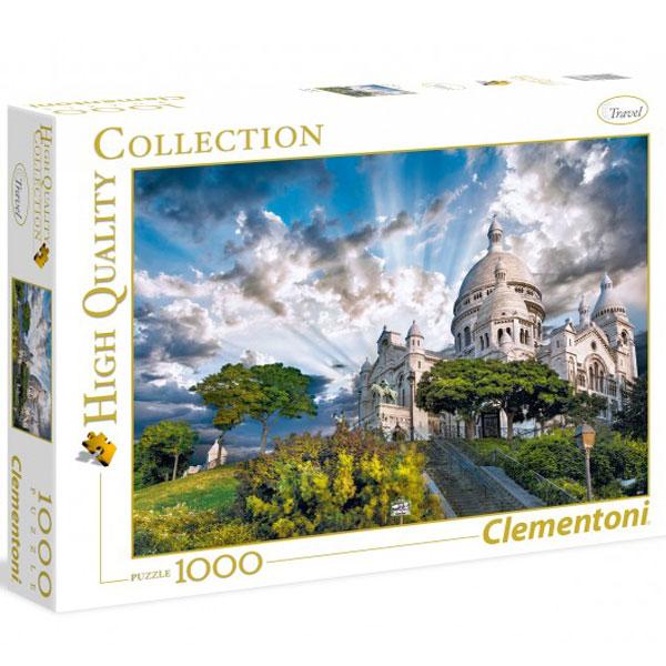 Clementoni puzzla Montmartre, France 1000pcs 39383 - ODDO igračke