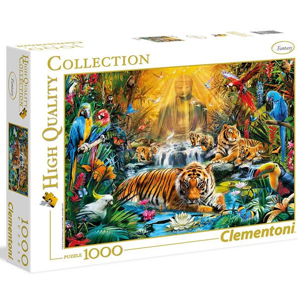 Clementoni puzzla Mystic Tigers 1000pcs 39380 - ODDO igračke