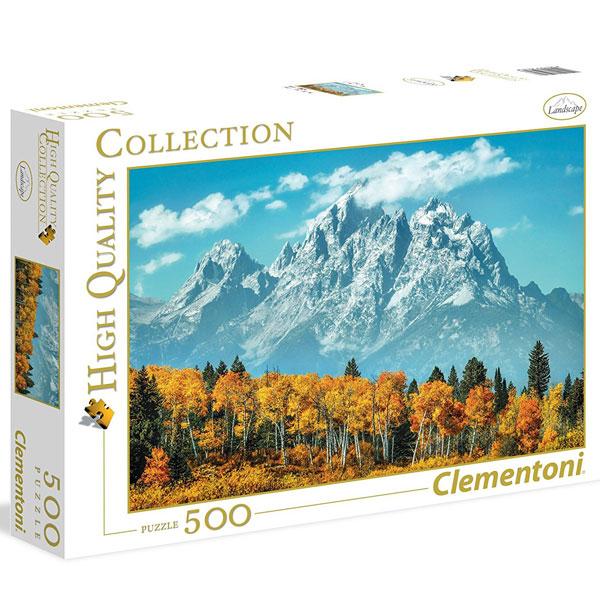 Clementoni puzzla Grand Teton in fall 500pcs 35034 - ODDO igračke