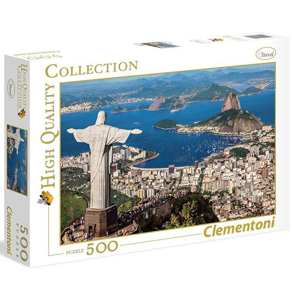 Clementoni puzzla Rio De Janeiro 500pcs 35032 - ODDO igračke