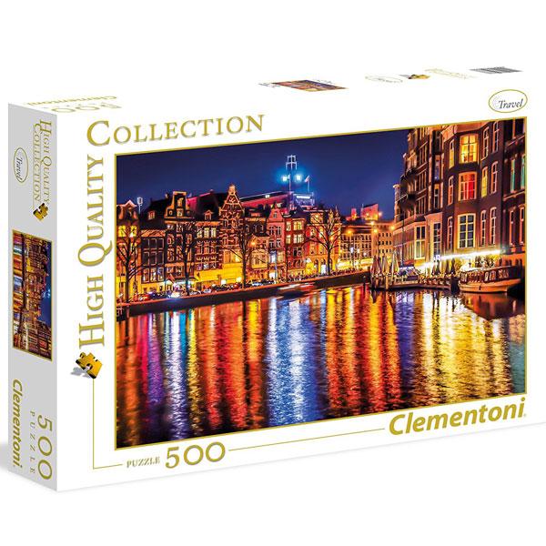 Clementoni puzzla Amsterdam 500pcs 35037 - ODDO igračke